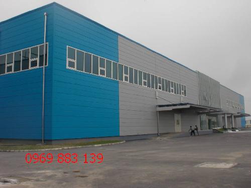 Cơ sở thi công nhà xưởng công Nghiệp Panel chất lượng cao giá cực tốt